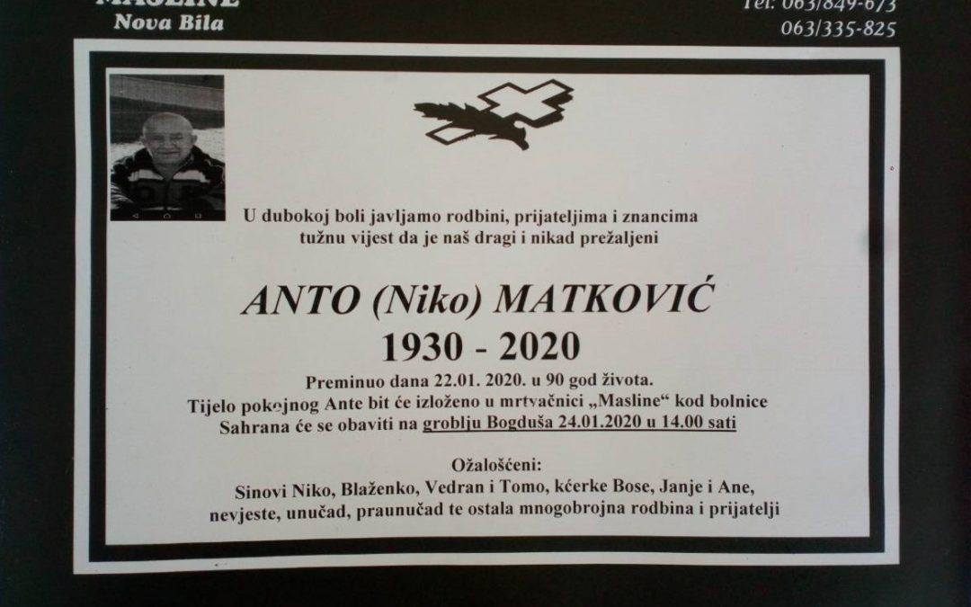 Anto (Niko) Matković