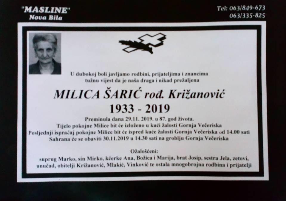 Milica Šarić