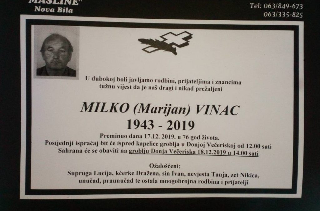 Milko Vinac