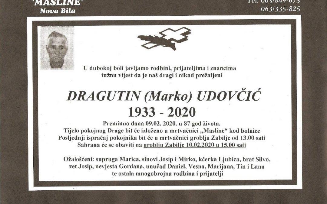 Dragutin (Marko) Udovčić