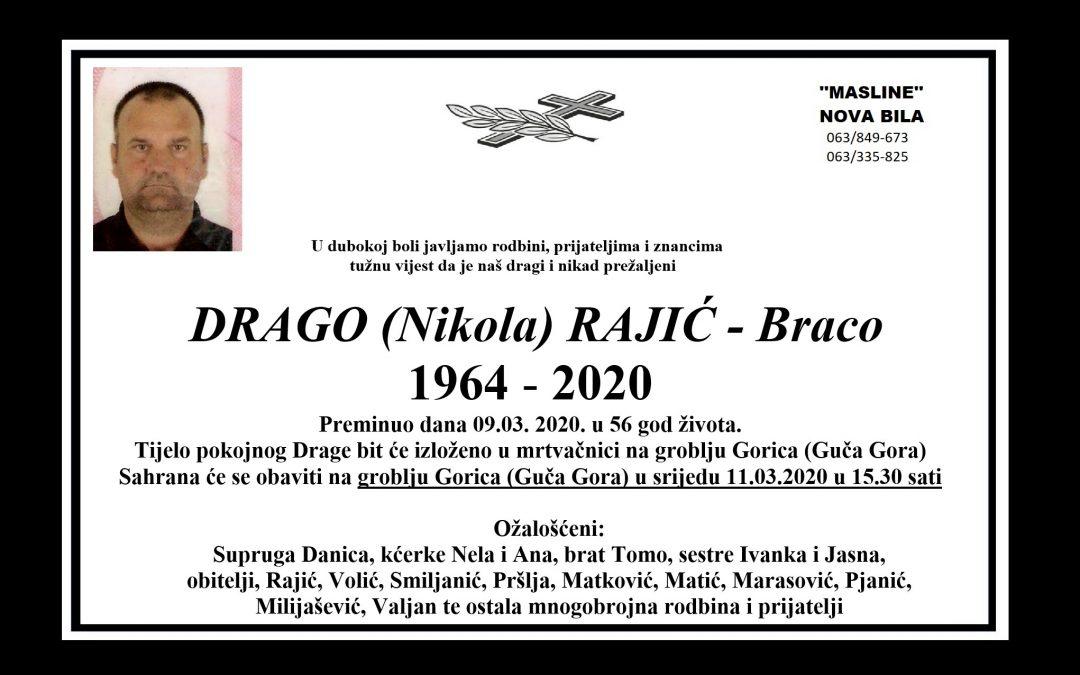 Drago (Nikola) Rajić – Braco