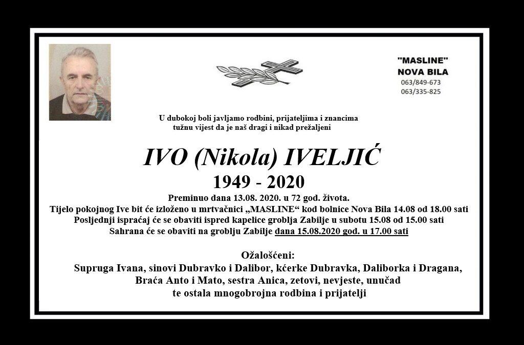 Ivo (Nikola) Iveljić