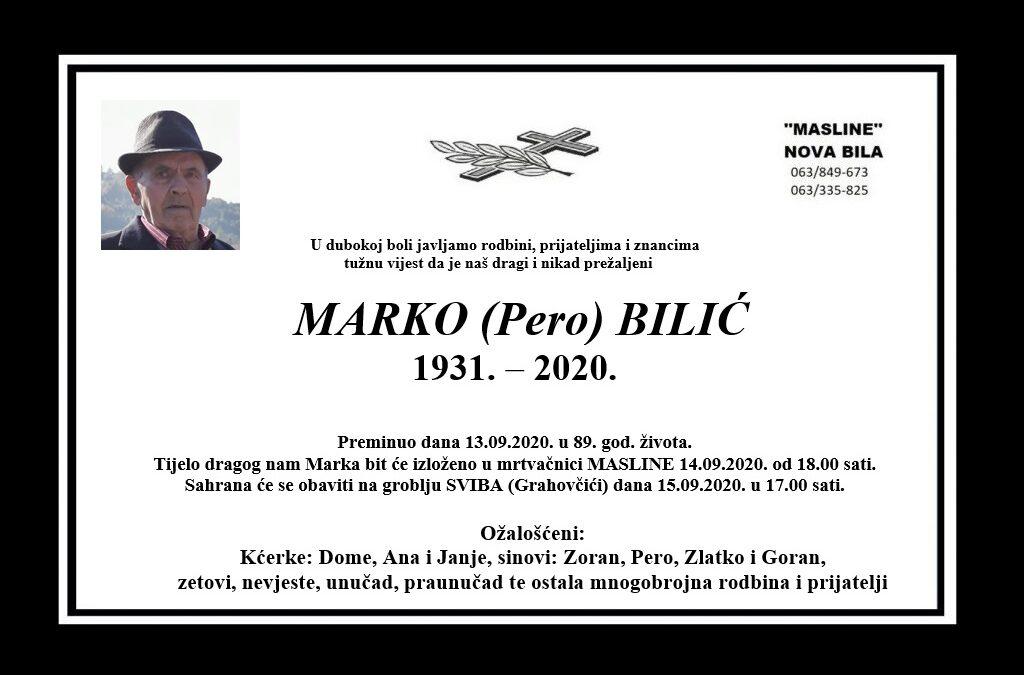 Marko (Pero) Bilić
