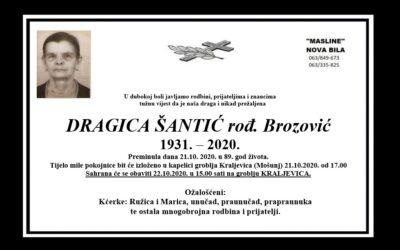 Dragica Šantić rođ. Brozović
