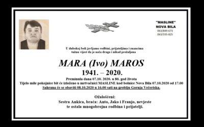 Mara (Ivo) Maros