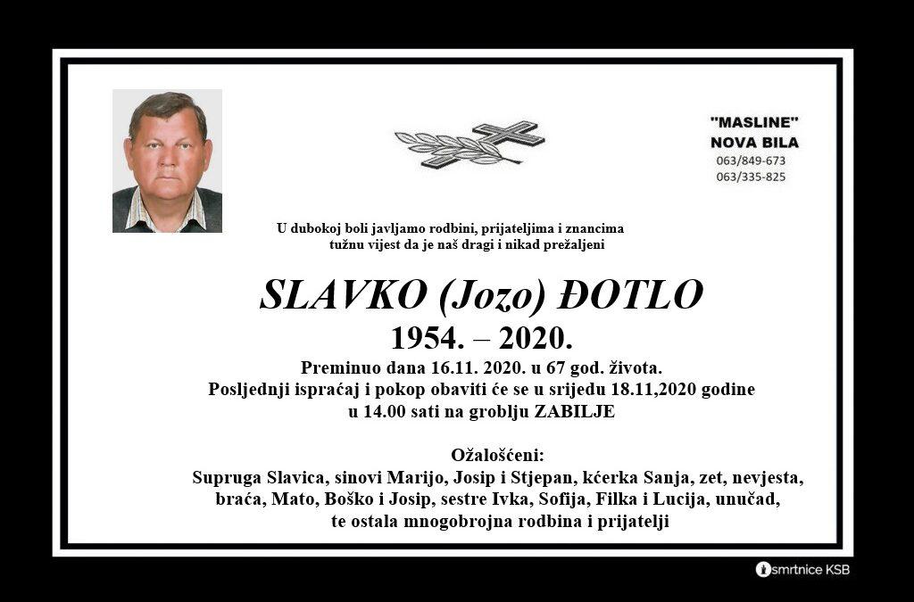 Slavko (Jozo) Đotlo