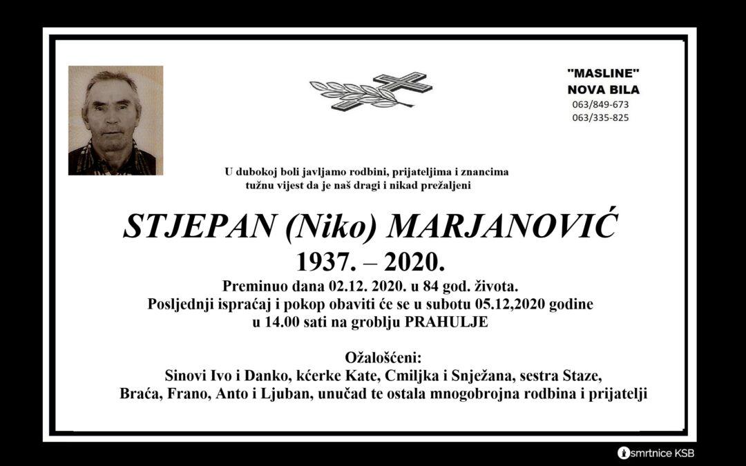Stjepan (Nike) Marjanović