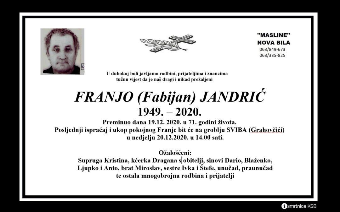 Franjo (Fabijan) Jandrić