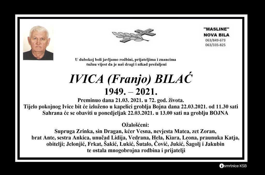 Ivica (Franjo) Bilać
