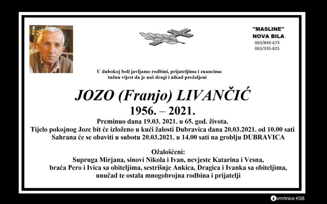 Jozo (Franjo) Livančić