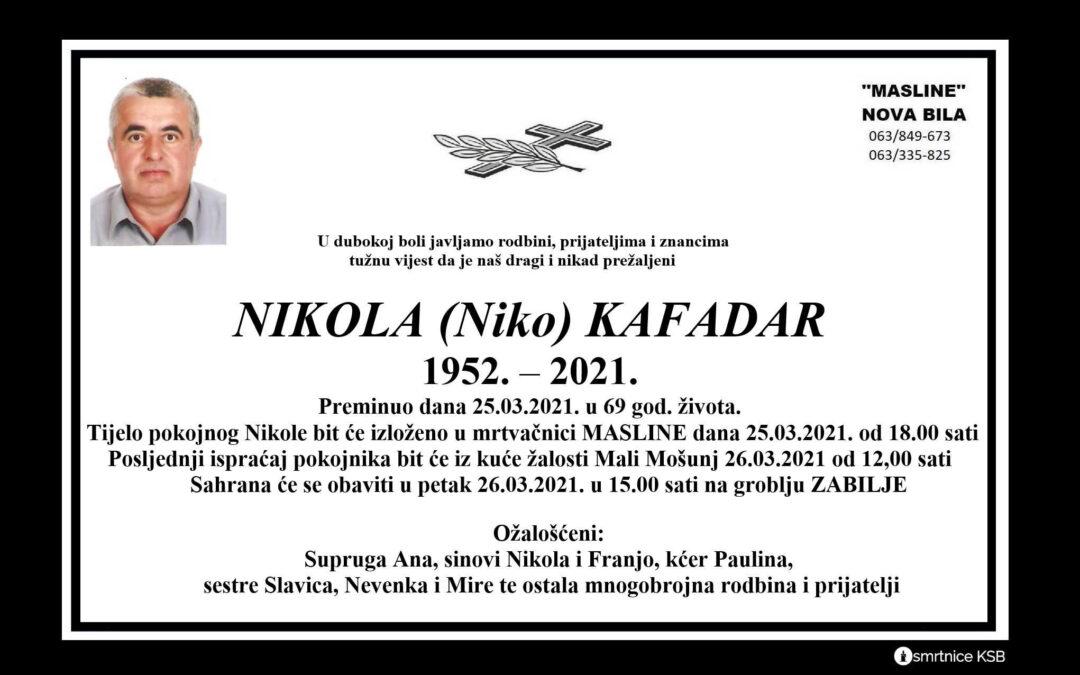 Nikola (Niko) Kafadar