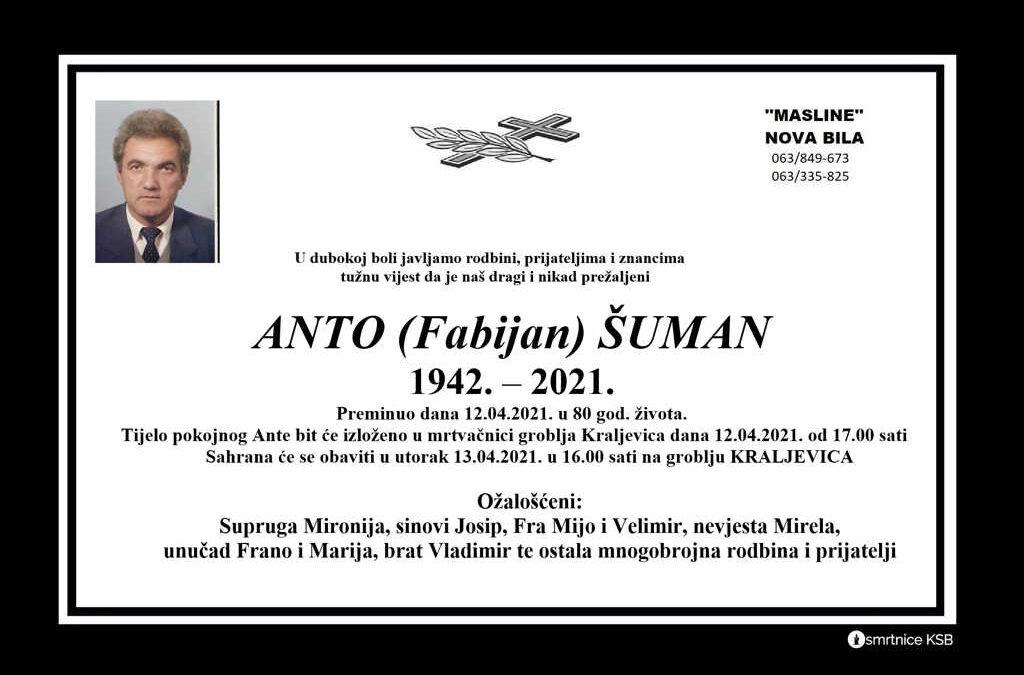 Anto (Fabijan) Šuman