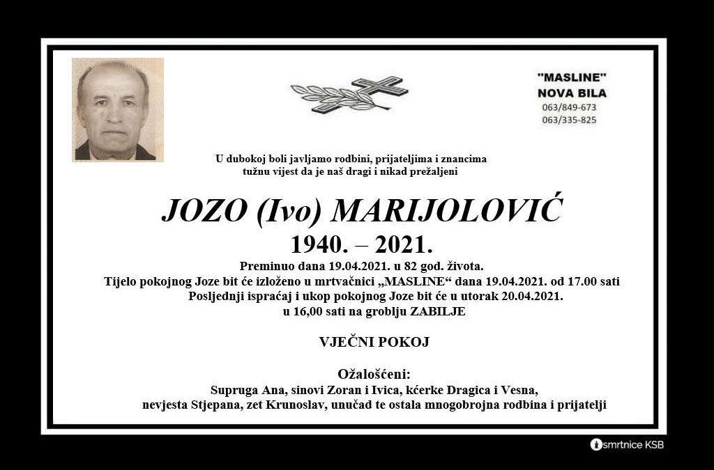 Jozo (Ivo) Marijolović