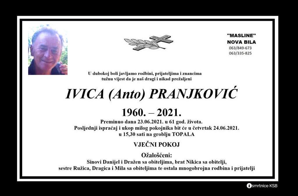 Ivica (Anto) Pranjković