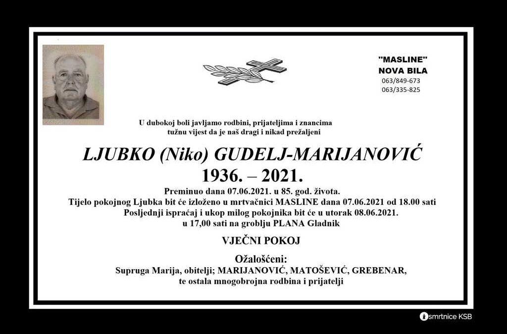 Ljubko (Niko) Gudelj-Marijanović