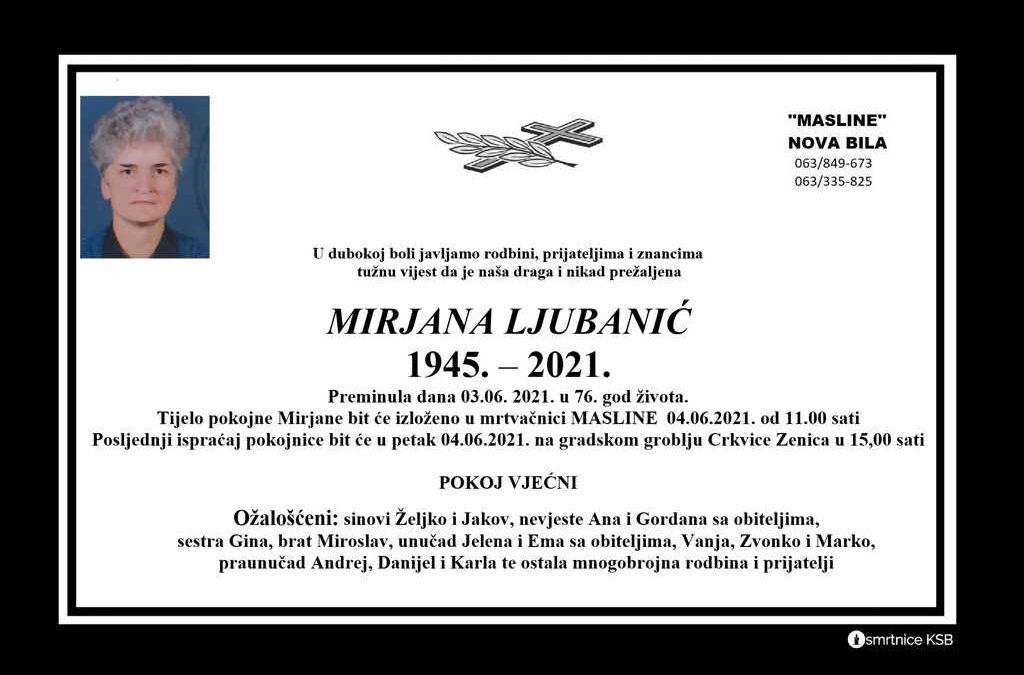 Mirjana Ljubanić