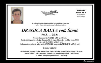Dragica Balta rođ. Šimić