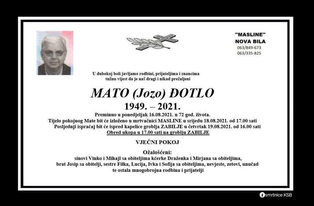 Mato (Jozo) Đotlo