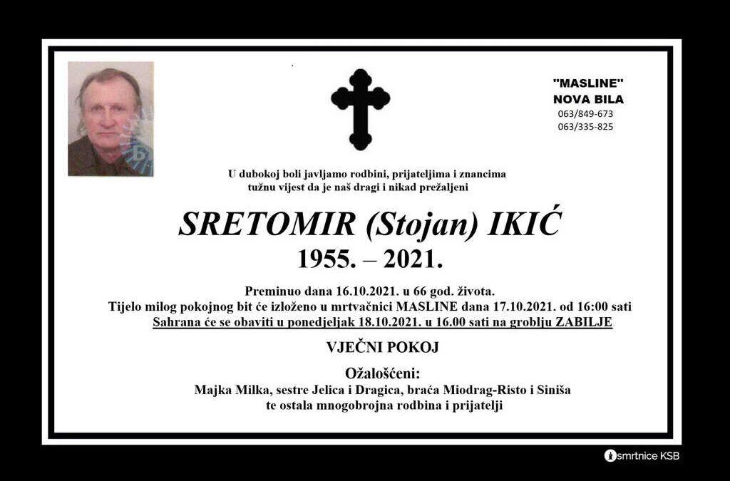 Sretomir (Stojan) Ikić